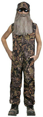 Duck Hunter Child Costume Coveralls Large 12-14 - Kids Hunter Costume