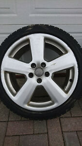 """5x oem audi a4 5x112 18"""" wheels and tires 235/40/18"""