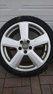 "5x oem audi a4 5x112 18"" wheels 235/40/18"