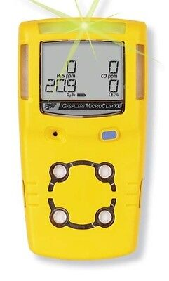 Bw Microclip Xl Gas Detector - H2s O2 Ch4lel Co Cw Charger