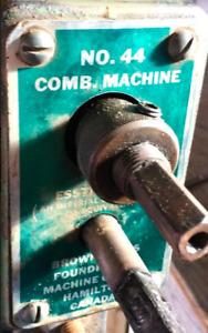 WANTED: BROWN & BOGGS sheetmetal machinery / parts