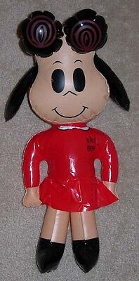 LITTLE LULU  BLOW-UP FIGURE  WHITMAN  GOLD KEY 1973  OLD STORE STOCK UNUSED