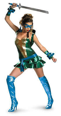 iz Tmnt Deluxe Leonardo Turtles Kostüm (Tmnt Damen Kostüm)