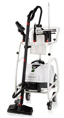 NEW Reliable Brio Pro 1000CT Steam Cleaner & Trolley
