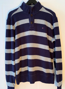 Great Condition- TOMMY HILFIGER Sweater (Blue/Gray)