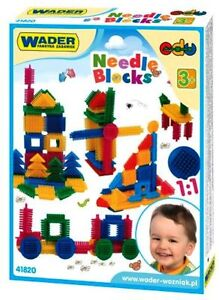 64 Piece Needle Blocks ( Stickle Bricks ) - Unisex Ideal Learning Toys