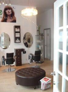 Salon d'ésthétique et coiffure a louer (option achat)