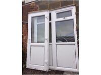 UPVC Double Glazed Door and Porch Set