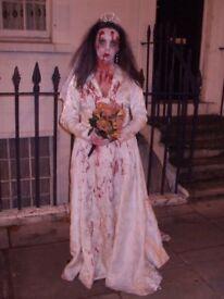 FREE Zombie Bride Halloween Costume