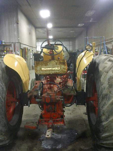 1964 ish case 830 gas with loader