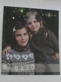 Winter Kids Knitting Book by Rowan