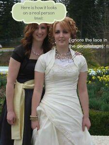 Sophia Tollie Ivory Wedding Dress Sz 10 Williams Lake Cariboo Area image 6