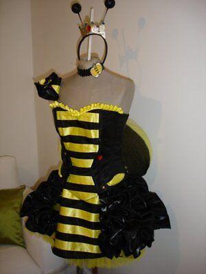 Queen Bee Korsett Kostüm - Queen Bee Kostüm