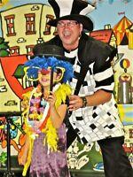 clown professionnel fête d'enfants
