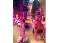 NEW NIKE pink women tracksuit