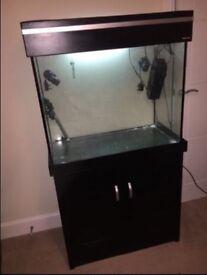 Aqua one fish tank 220 litre