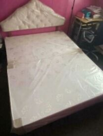 Brand New King Size Divan Bed Frame / Base with Headboard