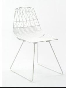 HIRE: $6:50 white wire chairs Landsdale Wanneroo Area Preview
