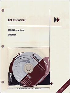 ARM 54 Course Guide Risk Assessment W/CD (2nd Edition)