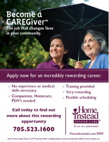 Looking for Caregivers