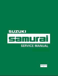 suzuki samurai manual | ebay