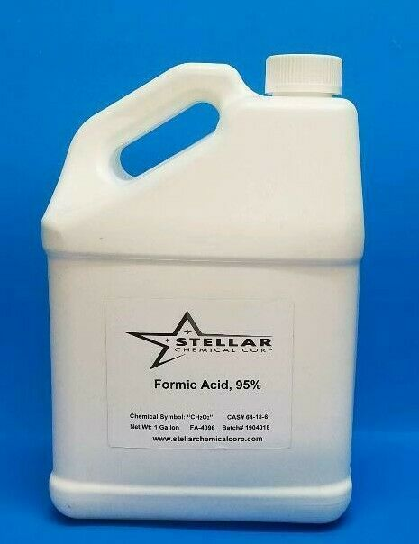Formic Acid, 95%         1 Gallon     Etching, Bee Keeping