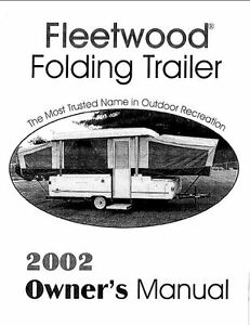 2002 coleman bayside elite owners manual