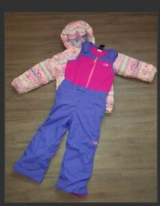 Girls Size 6 The North Face Snow Suit
