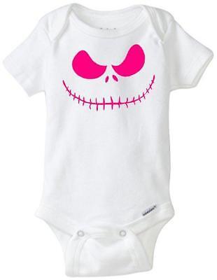 Jack Skellington Smile Custom Gerber Onesie infant-toddler Free Shipping](Jack Skellington Onesie)