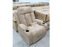 NEW NAPOLI-DUAL-MOTOR-MASSAGE-AND-HEATING-LIFT-CHAIR-IN-BROWN-FABRIC-NEW