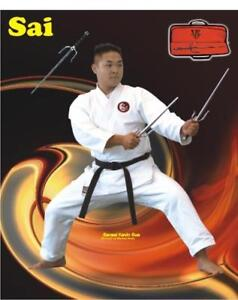 SAI CHROM STAINLESS STEELM 14:15, 16, 18, 19, 21, DISCOUNT FOR MARTIAL ARTS SCHOOLS, (905) 364-0440  www.fightpro.ca
