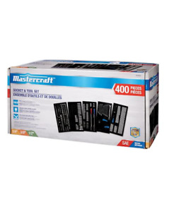 Mastercraft 400 piece socket set - tool set sockets