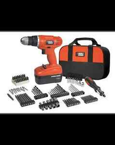 Perceuse-tournevis sans fil Black & Decker