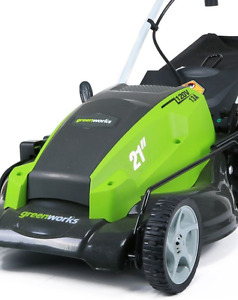 Electric Lawnmower with bag and 100ft cord