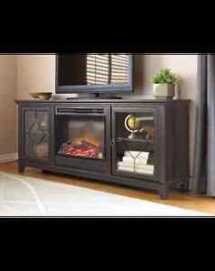 Lotus Media Fireplace