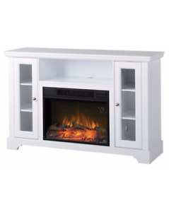 Electric Fireplace TV Stand - $400