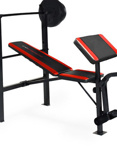 Cap Weight Bench and weights
