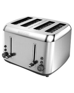 BLACK & DECKER 4-Slice Extra Wide Slot Toaster - Stainless Steel
