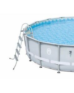 Hydro-Force Steel Pro Round Frame Pool 15ft x 48in