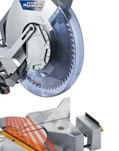 "Mastercraft 12"" sliding multi-angle multi-bevel mitre saw"