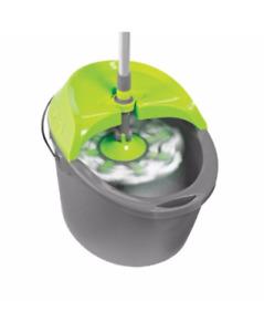 Moppe ''Spin mop'' avec le seau