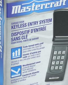 Garage Door Keypad Openner Keyless