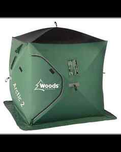 PAWN PRO'S HAS A WOODS ARCTIC 2 ICE HUT - GOOD CONDITION