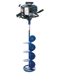 gas ice auger