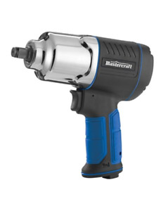 Mastercraft 1/2-in Compact Air Impact Wrench Brand New