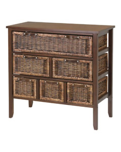 Wicker Chest Dressers