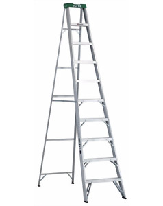 10 Foot Lite Aluminum Step Ladder