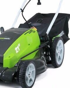 New Electric 21in 13A Greenworks Mower Kitchener / Waterloo Kitchener Area image 2
