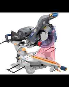 Mastercraft Maximum Sliding Mitre Saw with Laser, 12-in, 15A.