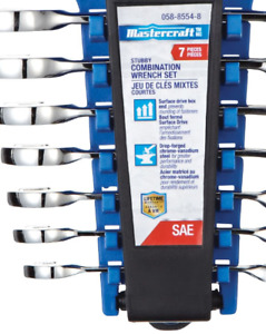 New Mastercraft Stubby Wrench Set, 7-pc From $39.5 to 8